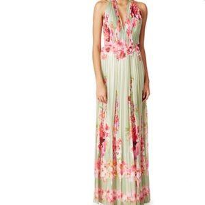 Alberta Ferretti Cascading Roses Gown Retail $4250